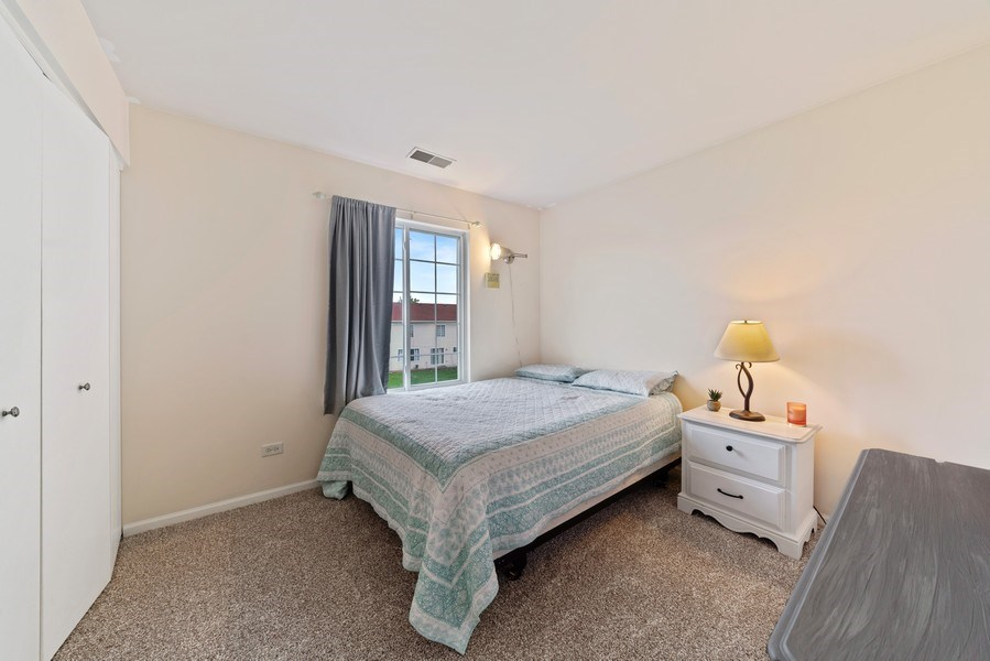 Real Estate Photography - 1457 CROWFOOT Lane, Minooka, IL, 60447 - 2nd Bedroom