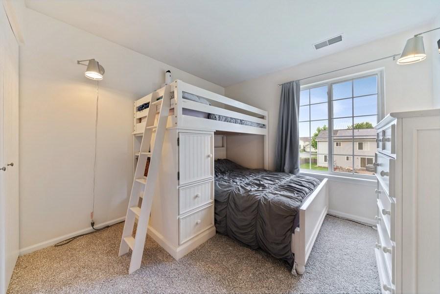 Real Estate Photography - 1457 CROWFOOT Lane, Minooka, IL, 60447 - 3rd Bedroom