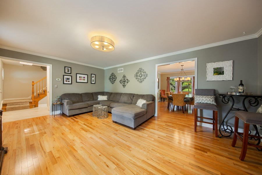 Real Estate Photography - 1517 Terrance Drive, Naperville, IL, 60565 - Living Room