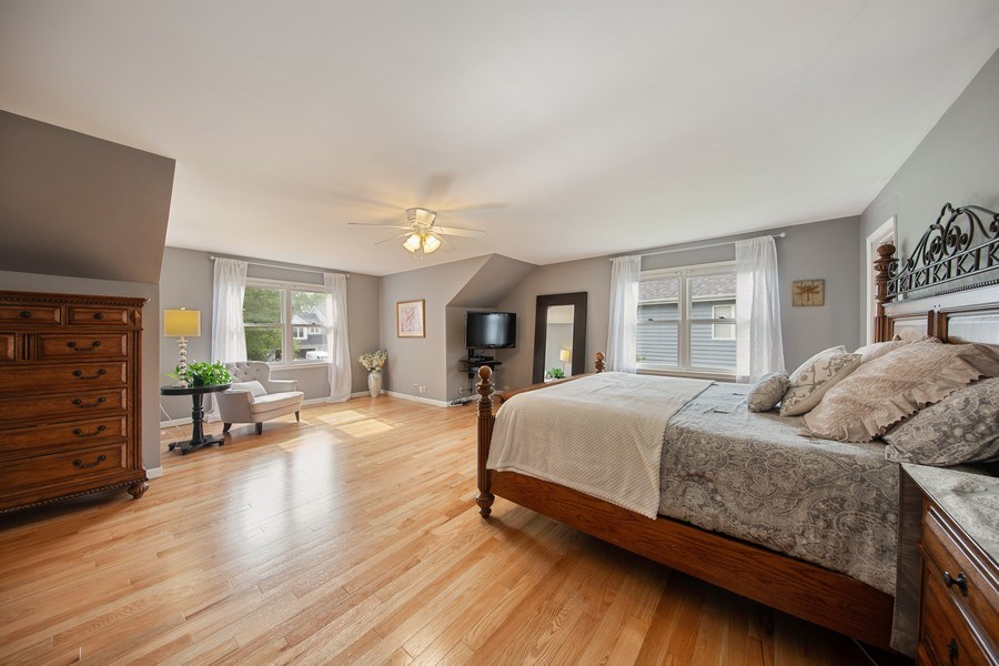 Real Estate Photography - 1517 Terrance Drive, Naperville, IL, 60565 - Master Bedroom