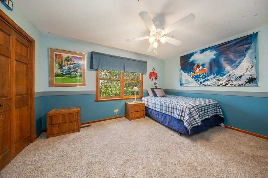Real Estate Photography - 1517 Terrance Drive, Naperville, IL, 60565 - Bedroom Three