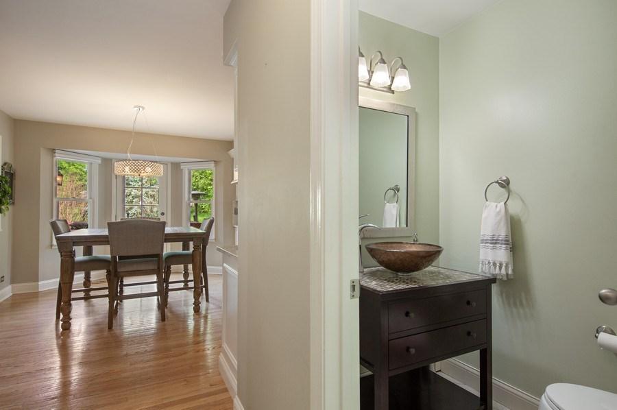 Real Estate Photography - 1517 Terrance Drive, Naperville, IL, 60565 - Guest Bath
