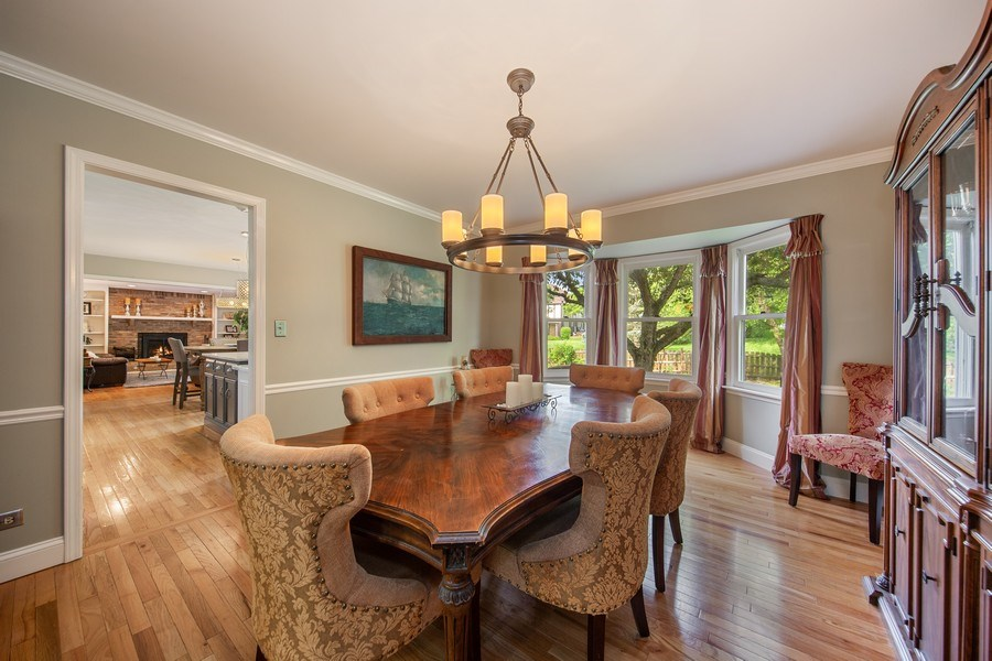 Real Estate Photography - 1517 Terrance Drive, Naperville, IL, 60565 - Dining Room