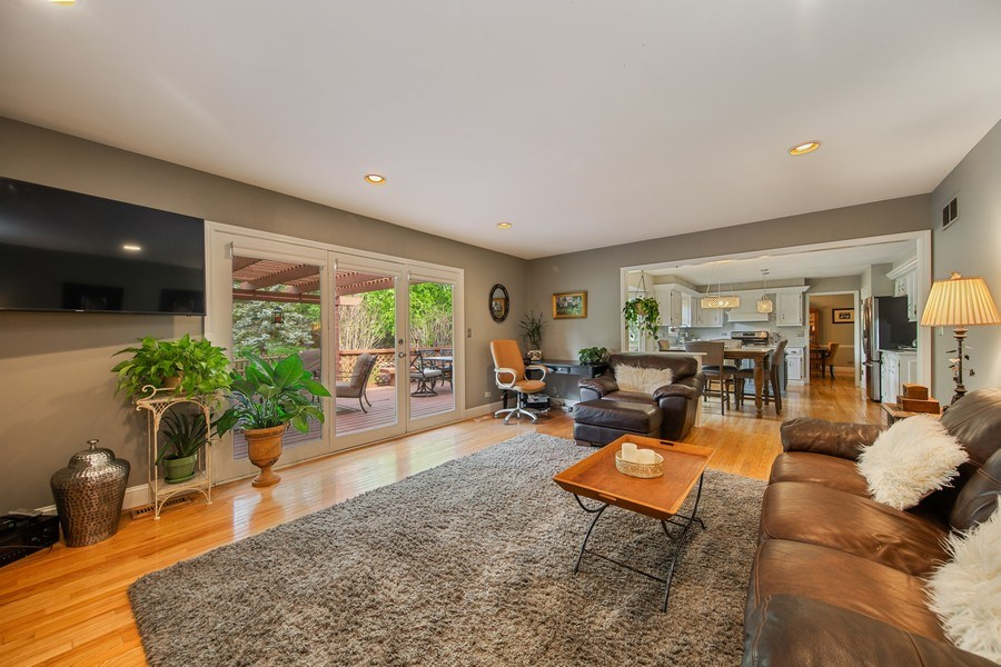 Real Estate Photography - 1517 Terrance Drive, Naperville, IL, 60565 - Family Room