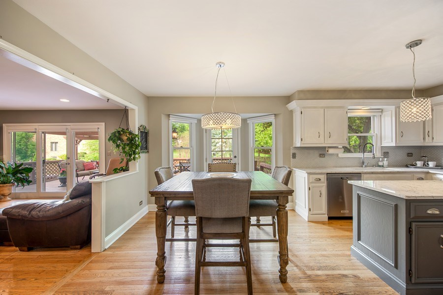 Real Estate Photography - 1517 Terrance Drive, Naperville, IL, 60565 - Eating Area