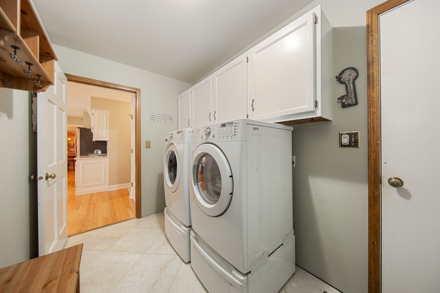 Real Estate Photography - 1517 Terrance Drive, Naperville, IL, 60565 - Laundry/Mud Room