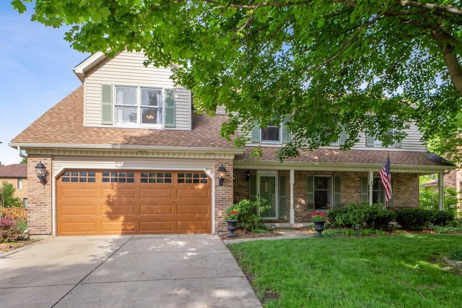 Real Estate Photography - 1517 Terrance Drive, Naperville, IL, 60565 - Front View