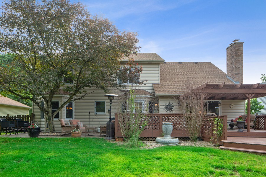 Real Estate Photography - 1517 Terrance Drive, Naperville, IL, 60565 - Rear View