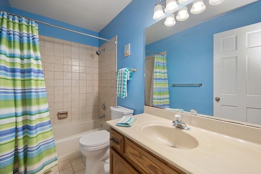Real Estate Photography - 1517 Terrance Drive, Naperville, IL, 60565 - Hall Bath