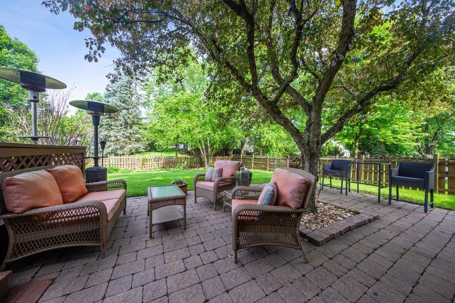 Real Estate Photography - 1517 Terrance Drive, Naperville, IL, 60565 - Patio