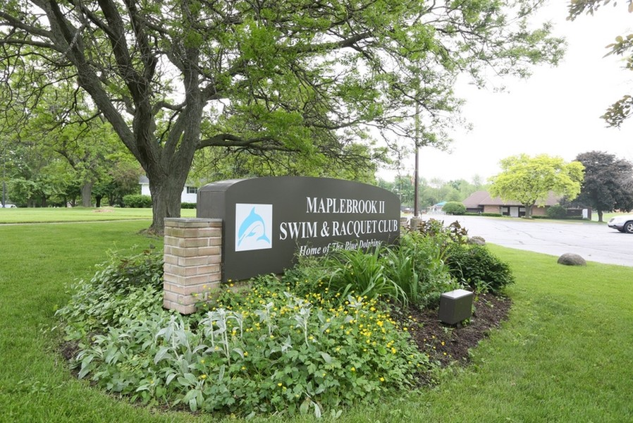Real Estate Photography - 1517 Terrance Drive, Naperville, IL, 60565 - Maplebrook II Swim & Racquet Club
