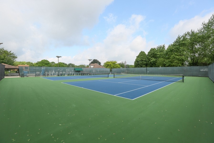 Real Estate Photography - 1517 Terrance Drive, Naperville, IL, 60565 - Tennis Courts