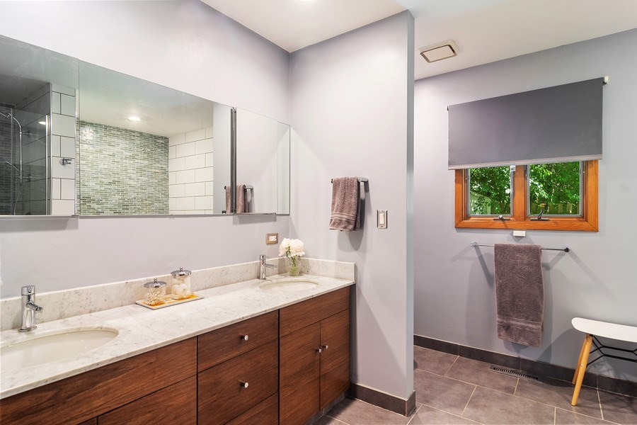 Real Estate Photography - 21116 N. Prestwick Drive, Barrington, IL, 60010 - Master Bathroom
