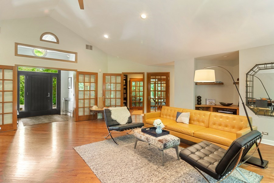 Real Estate Photography - 21116 N. Prestwick Drive, Barrington, IL, 60010 - Foyer/Living Room