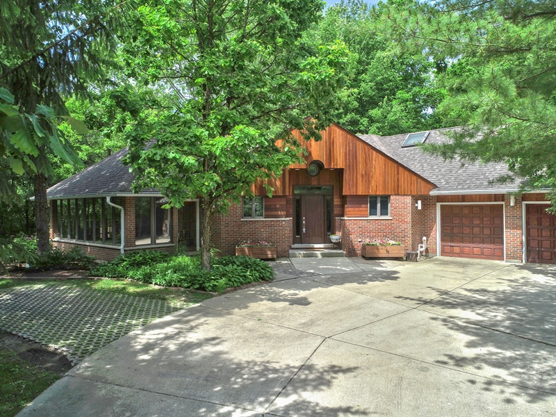 Real Estate Photography - 21116 N. Prestwick Drive, Barrington, IL, 60010 - Aerial View