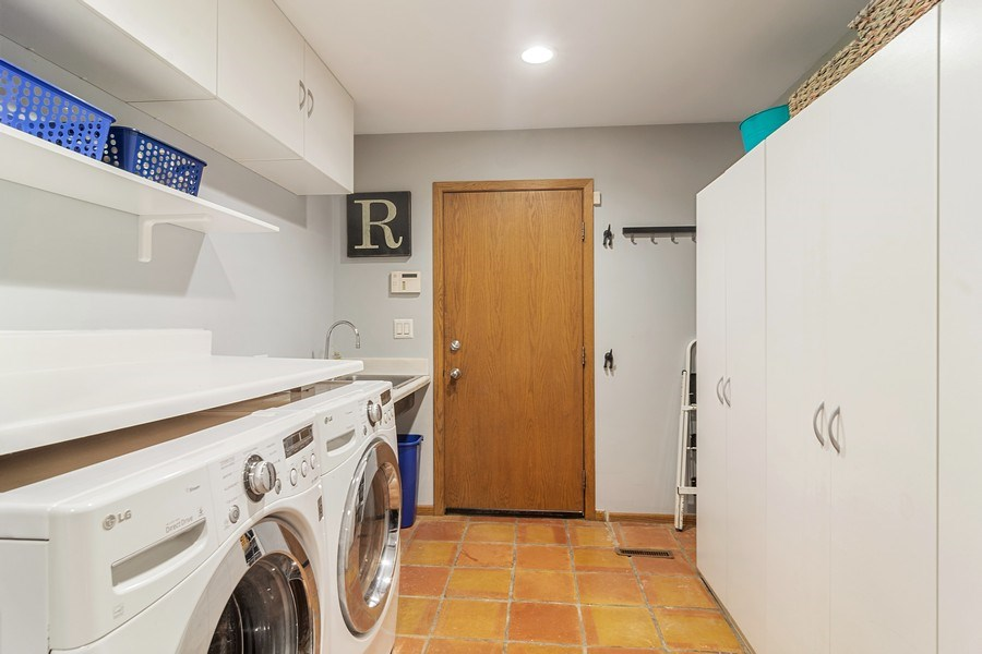 Real Estate Photography - 21116 N. Prestwick Drive, Barrington, IL, 60010 - Laundry Room