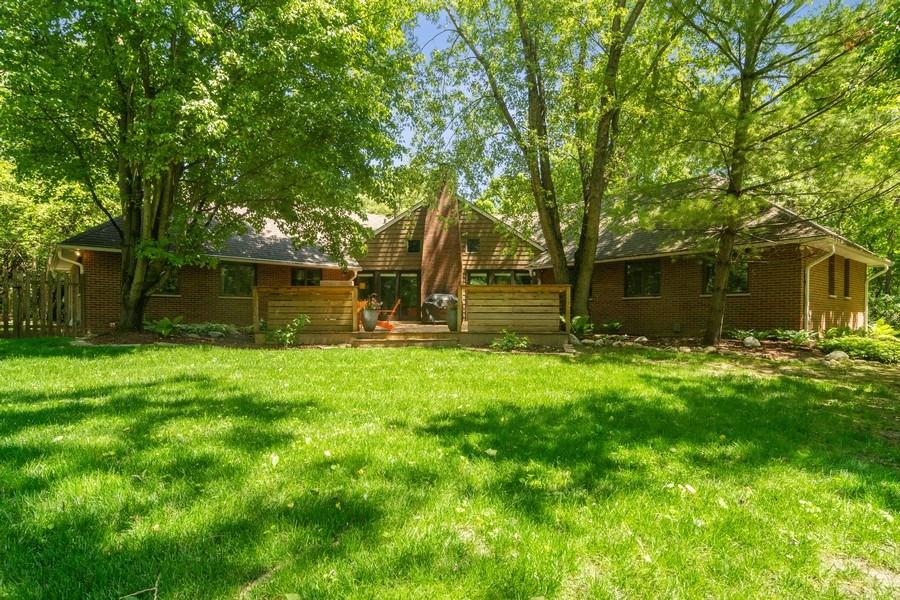 Real Estate Photography - 21116 N. Prestwick Drive, Barrington, IL, 60010 - Rear View