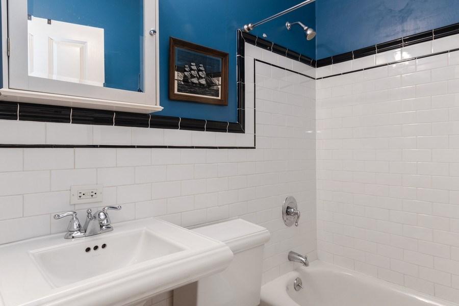 Real Estate Photography - 3652 W. BELLE PLAINE Avenue, Unit 204, Chicago, IL, 60618 - Bathroom