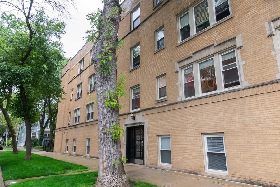 Real Estate Photography - 3652 W. BELLE PLAINE Avenue, Unit 204, Chicago, IL, 60618 - Front View