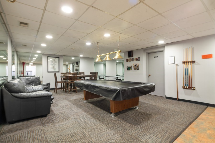 Real Estate Photography - 4225 Saratoga Ave, 105B, Downers Grove, IL, 60515 - Recreational Room