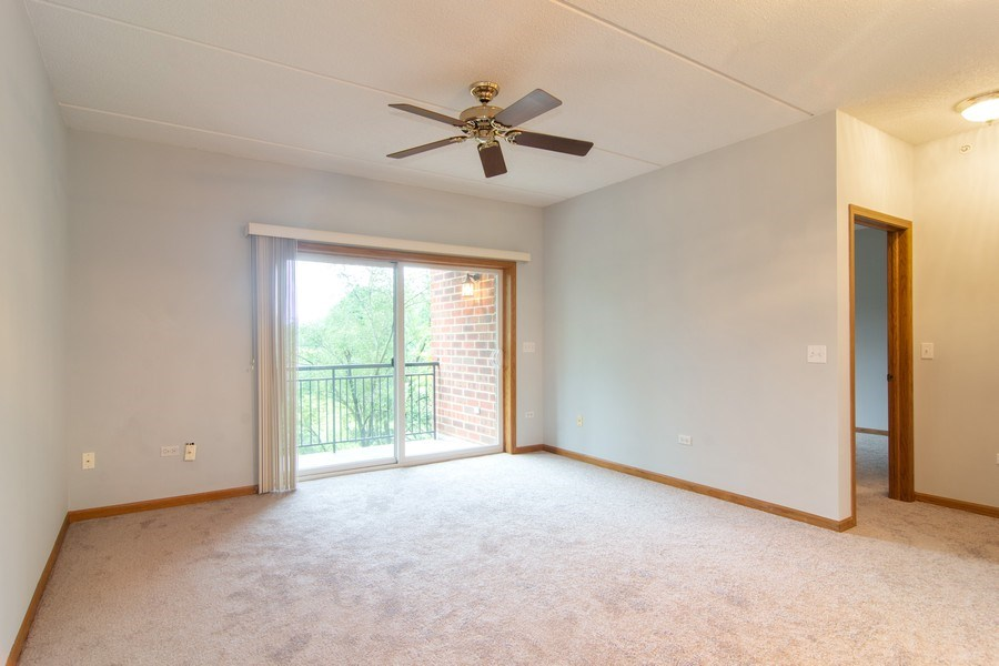 Real Estate Photography - 3401 N. Carriageway Drive, Unit 303, Arlington Heights, IL, 60004 - Living Room