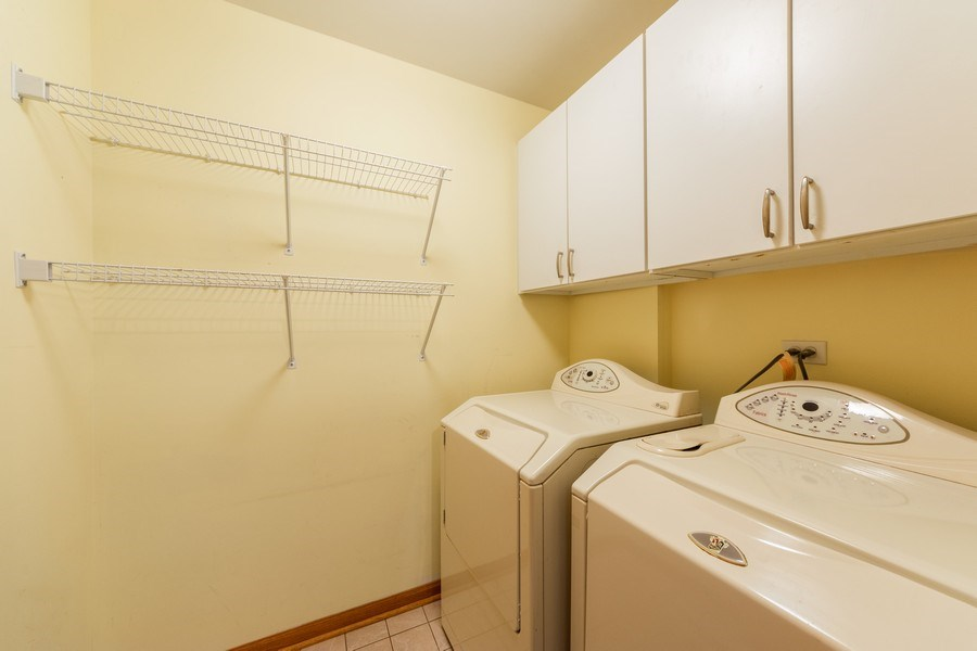 Real Estate Photography - 3401 N. Carriageway Drive, Unit 303, Arlington Heights, IL, 60004 - Laundry Room
