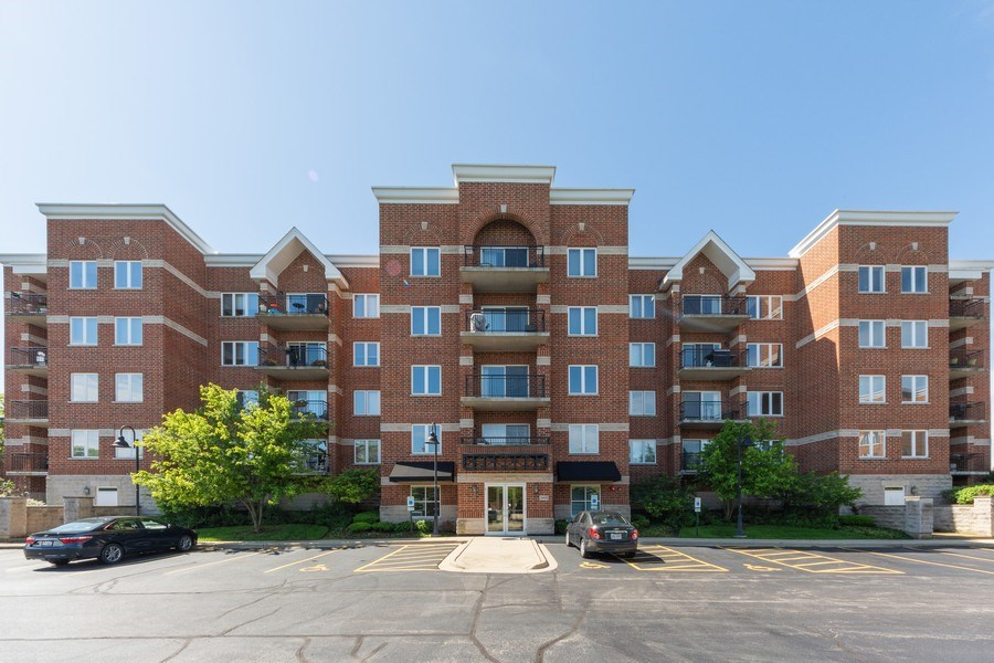 Real Estate Photography - 3401 N. Carriageway Drive, Unit 303, Arlington Heights, IL, 60004 - Front View