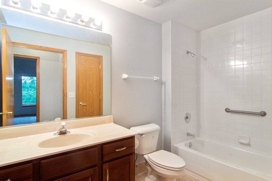Real Estate Photography - 3401 N. Carriageway Drive, Unit 303, Arlington Heights, IL, 60004 - Bathroom