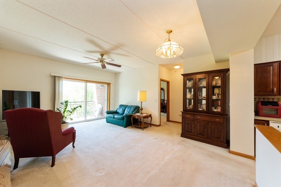 Real Estate Photography - 3401 N. Carriageway Drive, Unit 303, Arlington Heights, IL, 60004 - Living Room / Dining Room