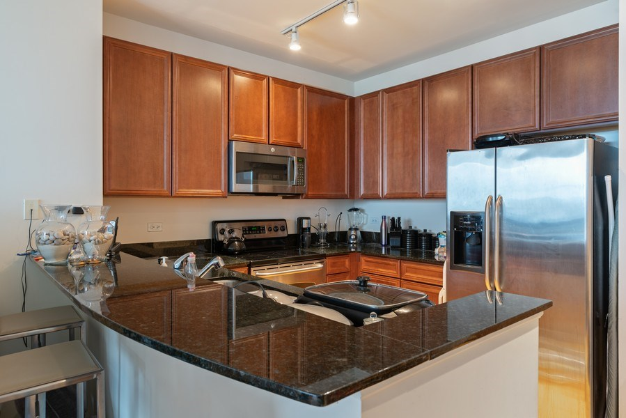 Real Estate Photography - 1841 South Calumet Ave, 2205, Chicago, IL, 60616 - Kitchen