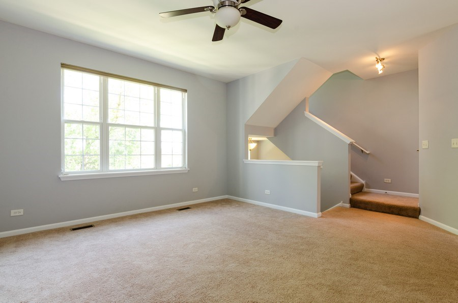 Real Estate Photography - 3136 Valley Falls Street, Elgin, IL, 60124 - Living Room