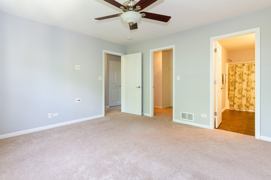 Real Estate Photography - 3136 Valley Falls Street, Elgin, IL, 60124 - Master Bedroom