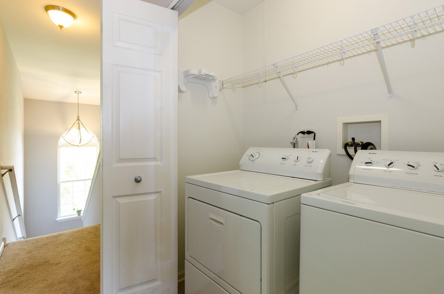 Real Estate Photography - 3136 Valley Falls Street, Elgin, IL, 60124 - Laundry Room