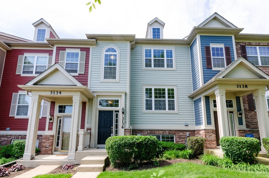 Real Estate Photography - 3136 Valley Falls Street, Elgin, IL, 60124 - Front View