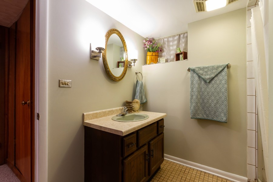 Real Estate Photography - 834 S. Arlington Heights Road, Arlington Heights, IL, 60005 - 2nd Bathroom