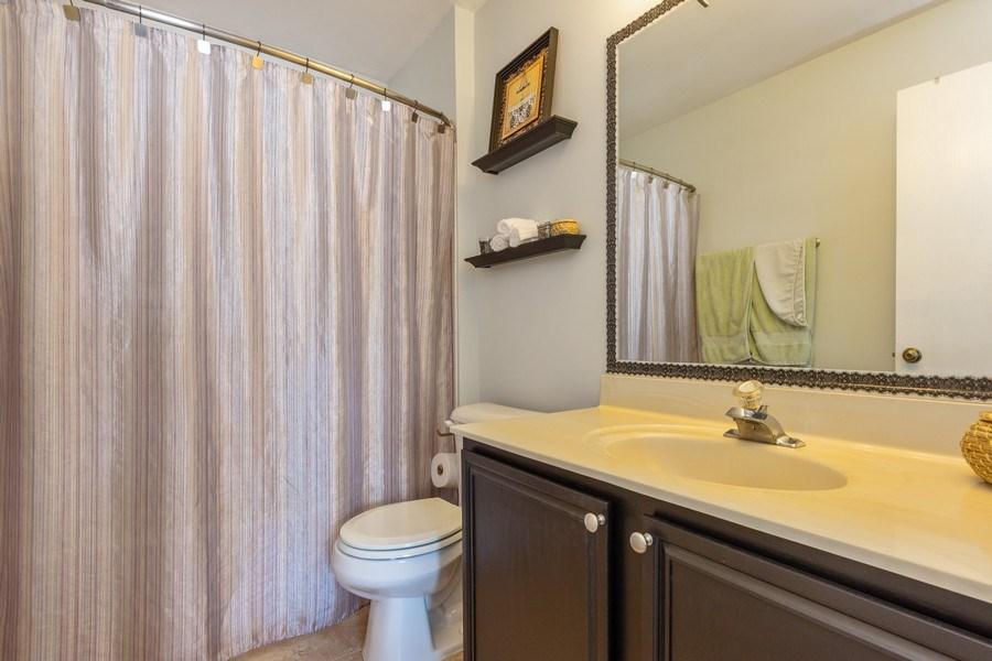 Real Estate Photography - 719 E. Whispering Oaks Drive, Unit 2RY, Palatine, IL, 60074 - Master Bathroom