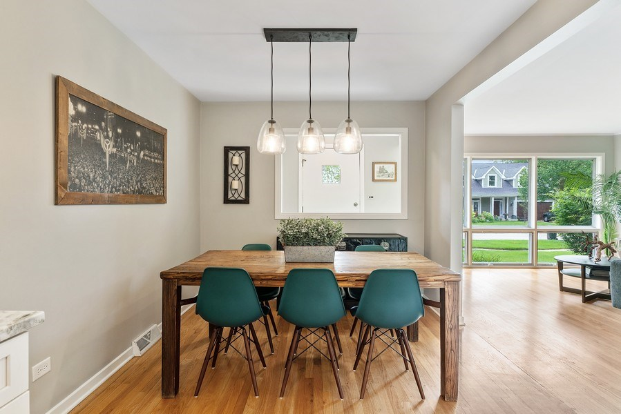 Real Estate Photography - 336 Indian Drive, Glen Ellyn, IL, 60137 - Dining Room