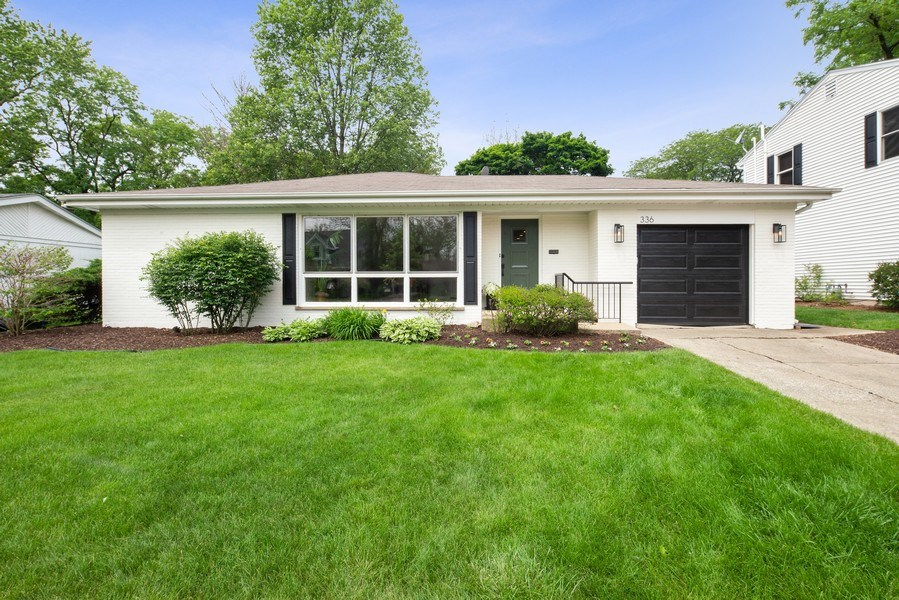 Real Estate Photography - 336 Indian Drive, Glen Ellyn, IL, 60137 - Front View