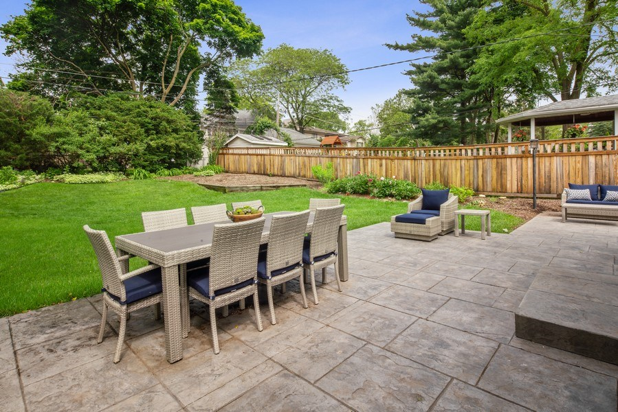 Real Estate Photography - 336 Indian Drive, Glen Ellyn, IL, 60137 - Patio