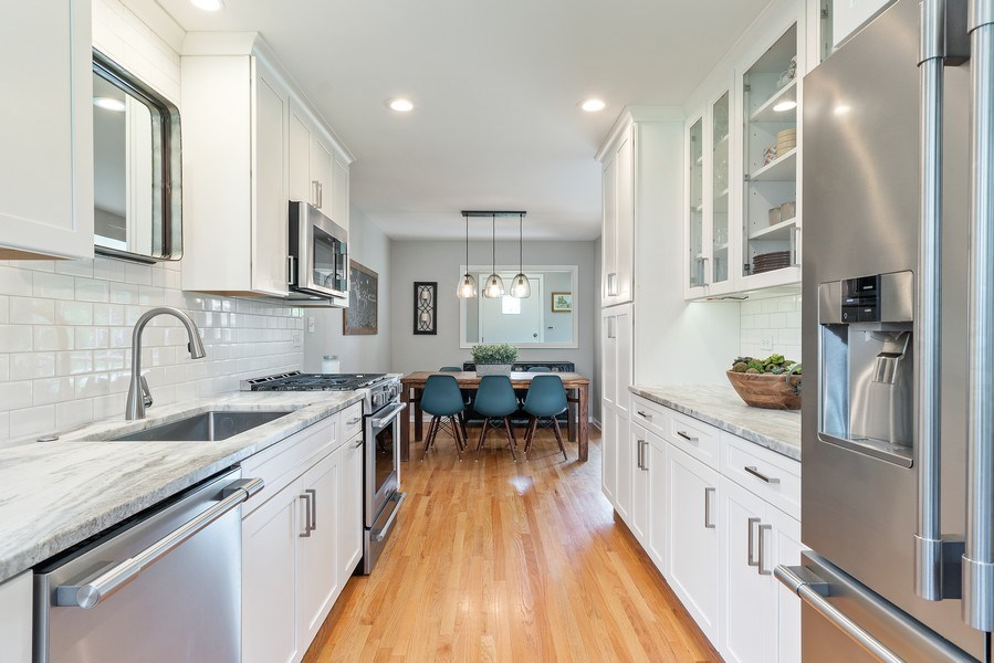 Real Estate Photography - 336 Indian Drive, Glen Ellyn, IL, 60137 - Kitchen/Dining