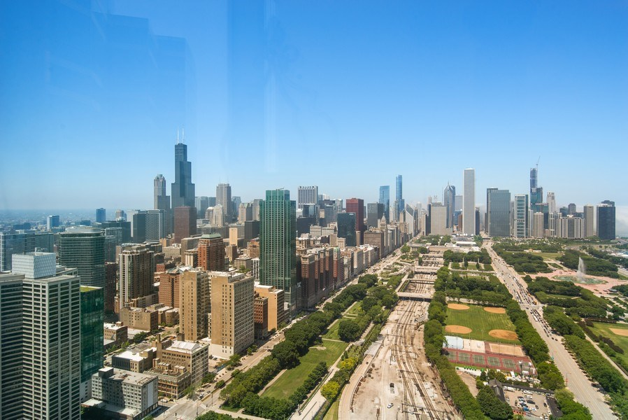 Real Estate Photography - 1211 S. Prairie Avenue, Unit 5005, Chicago, IL, 60605 - View