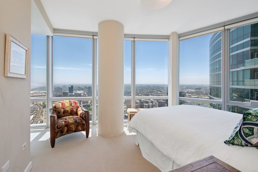 Real Estate Photography - 1211 S. Prairie Avenue, Unit 5005, Chicago, IL, 60605 - 2nd Bedroom