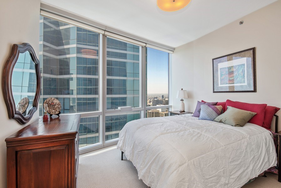 Real Estate Photography - 1211 S. Prairie Avenue, Unit 5005, Chicago, IL, 60605 - 3rd Bedroom