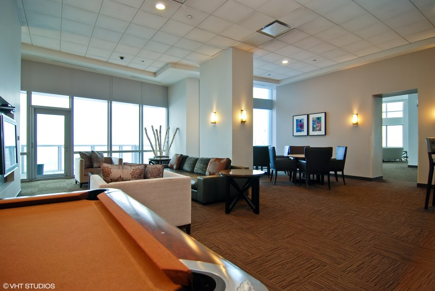 Real Estate Photography - 1211 S. Prairie Avenue, Unit 5005, Chicago, IL, 60605 - Club/Party Room