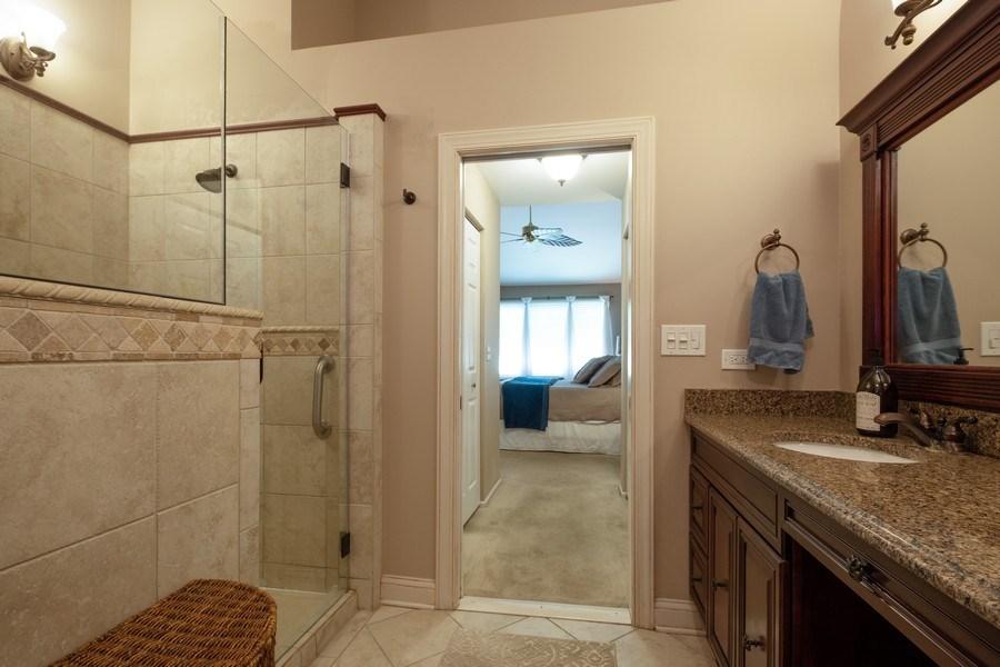 Real Estate Photography - 1379 Glengary Ln, L, Wheeling, IL, 60090 - Master Bathroom