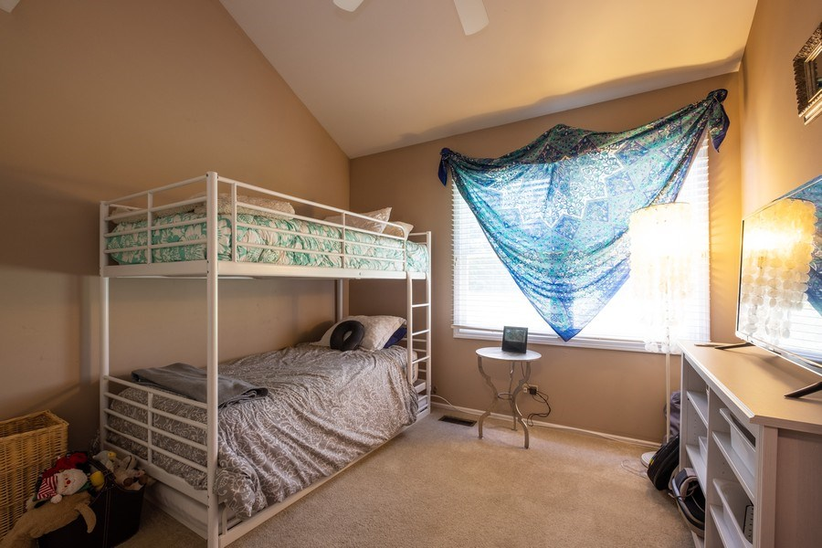 Real Estate Photography - 1379 Glengary Ln, L, Wheeling, IL, 60090 - Second Bedroom (First Floor)