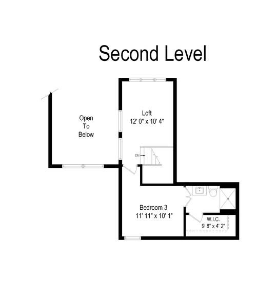 Real Estate Photography - 1379 Glengary Ln, L, Wheeling, IL, 60090 - Floor Plan