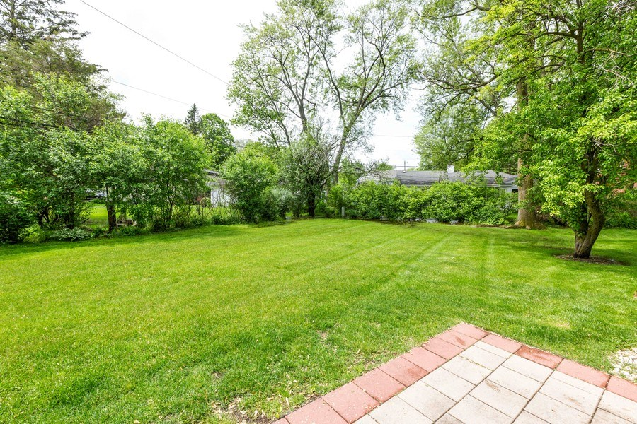 Real Estate Photography - 309 Ferndale Road, Glenview, IL, 60025 - Patio
