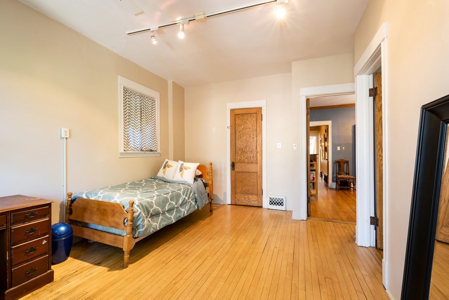Real Estate Photography - 1456 W. Thome Avenue, Chicago, IL, 60660 - 3rd Bedroom