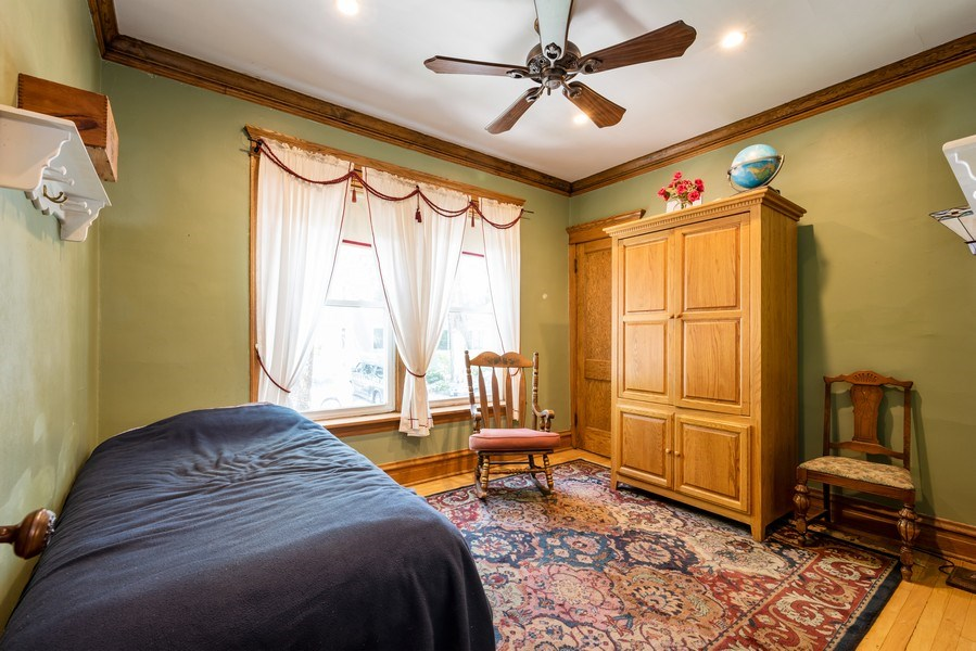 Real Estate Photography - 1456 W. Thome Avenue, Chicago, IL, 60660 - Main Floor Bedroom